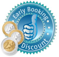 early booking discount