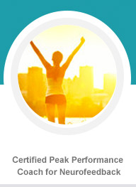Certified Peak Performance Coach for Neurofeedback