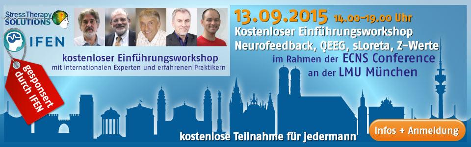 kostenloses Symposium mit internationalen Experten zu Neurofeedback